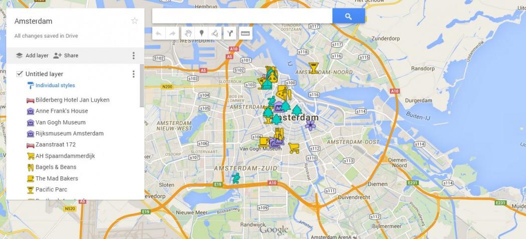MAPS: AMSTERDAM - Best World Yet