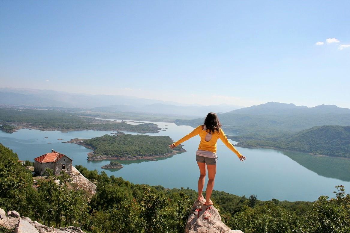 Road tripping through Montenegro.