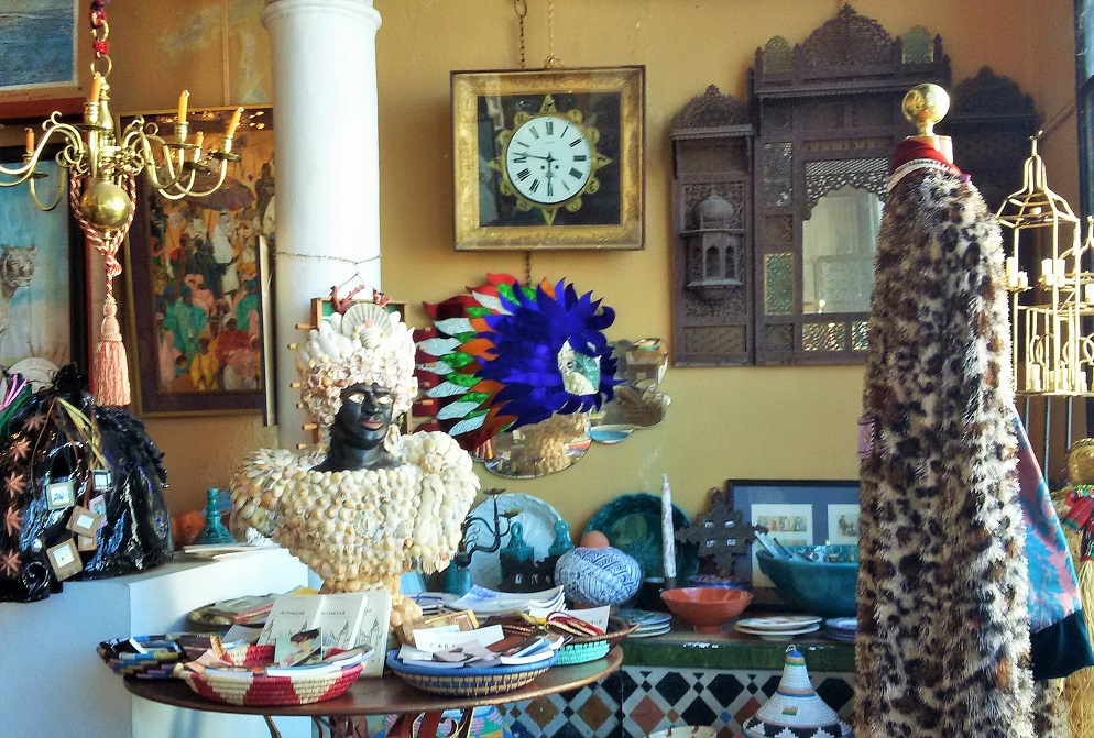 Tangier Morocco Travel Guide: Head to Laure Welfling's boutique in the Kasbah where there are one of a kind designs.
