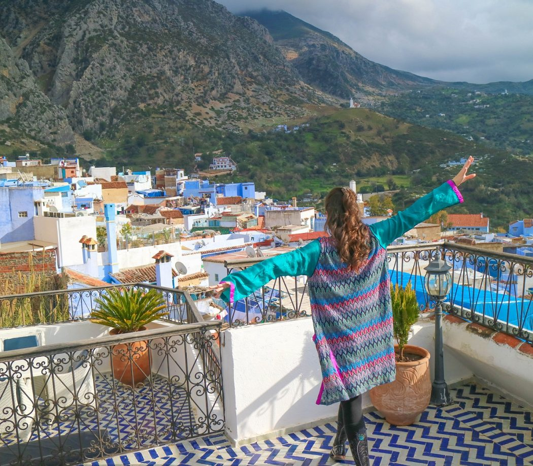 Tangier Morocco Travel Guide: Delicate blouse with silk sleeves - head to Laure Welfling's boutique in the Kasbah where there are one of a kind designs.