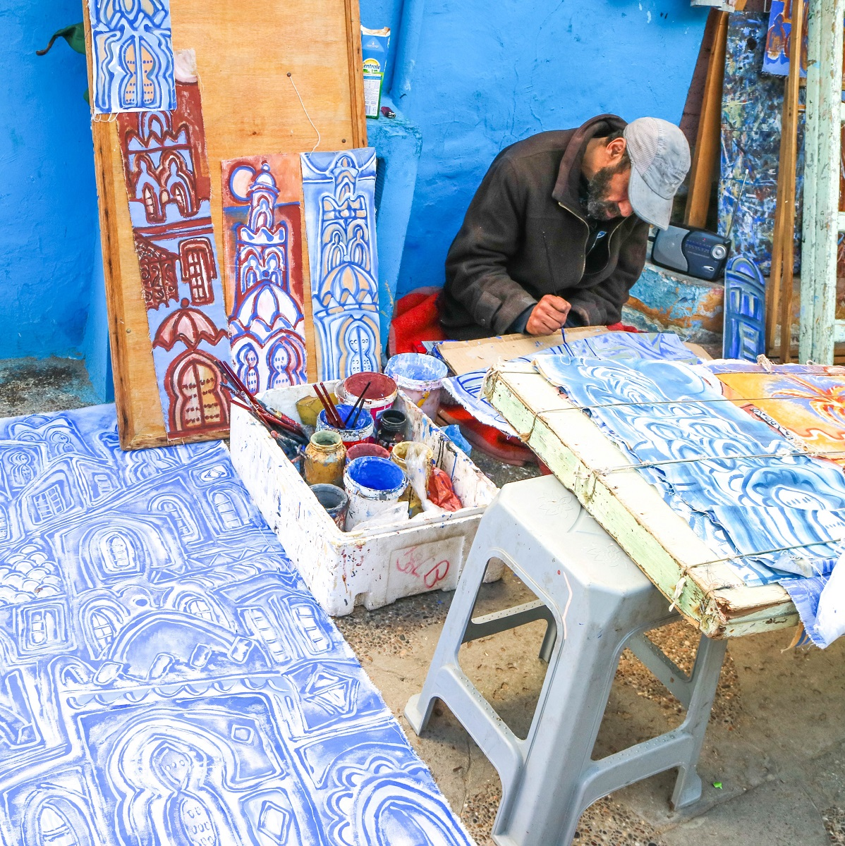 Tangier, Morocco Travel Guide: Day Trip to Asilah - this beautiful, coastal town is popular among artists, and just a walk through the old town makes it clear as to why.